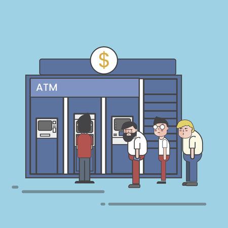 ATM machine concept