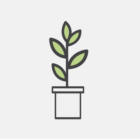 Illustration of plant Stock Illustration - 96799315
