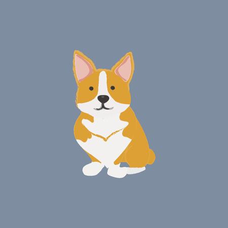 Concept de chien de compagnie