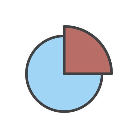Illustration of data analysis graph Stock Illustration - 96798763