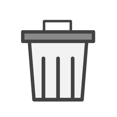 Rubbish bin concept
