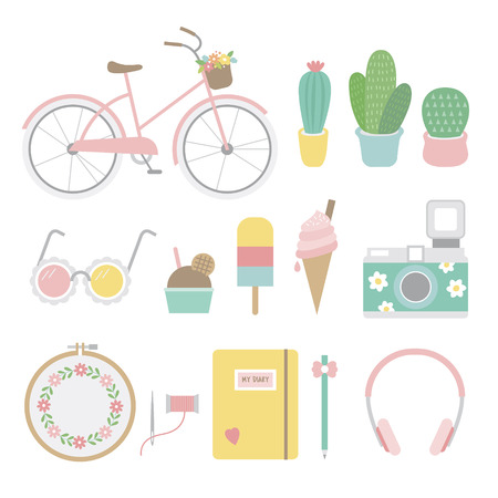 Summer theme collection
