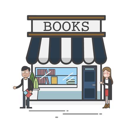 Book store concept Standard-Bild - 116011774