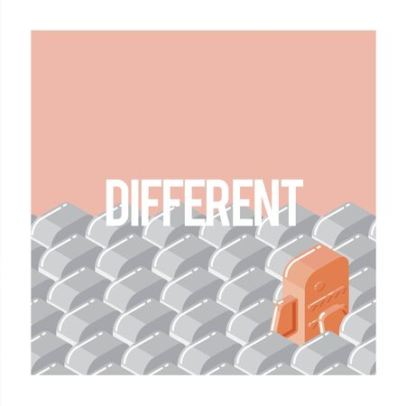 Different Goldfish Freedom Ideas Graphic