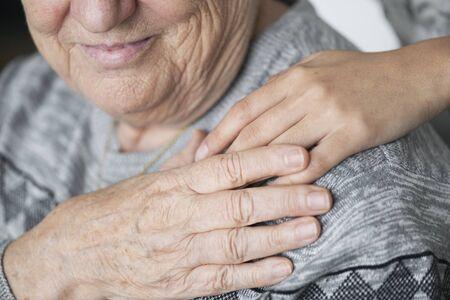 Closeup of a support hands Фото со стока