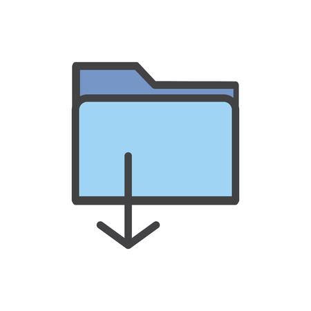 Illustration du transfert de données Banque d'images - 96572572