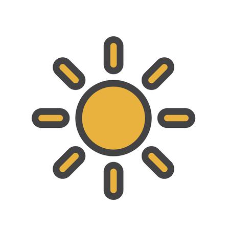 Icono de brillo Foto de archivo