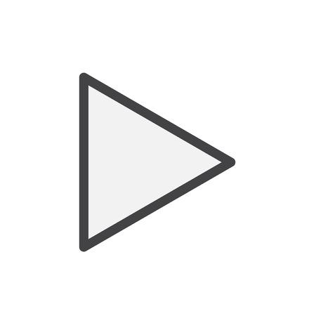 Media play button concept