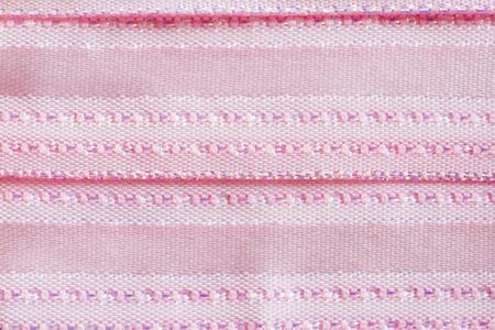 Pink fabric Archivio Fotografico - 96571876