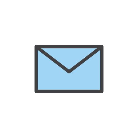 Illustration of mail icon