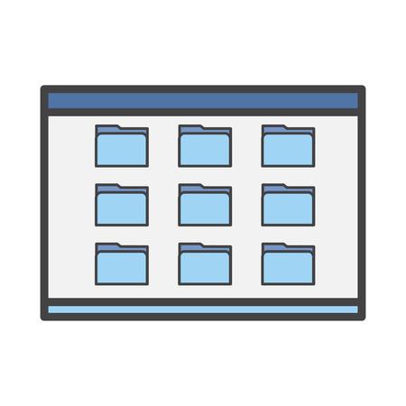 Apps folder concept
