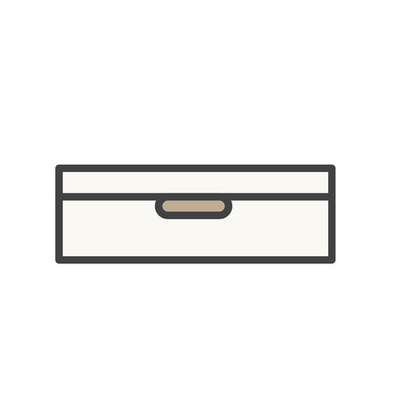 Illustration of document drawer
