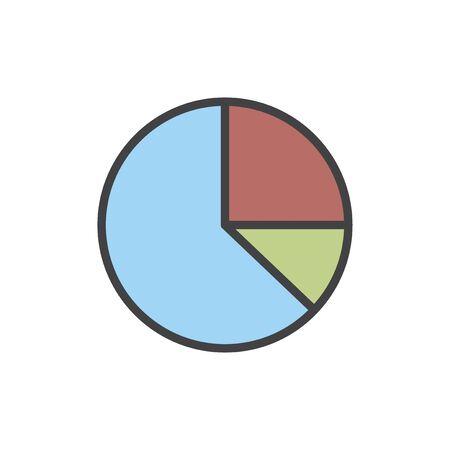 Illustration of data analysis graph Stock Illustration - 96682903