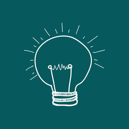 Illustration of a light bulb