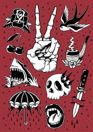 Illustration of Comic style  Фото со стока