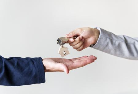 Buying real estate concept Banco de Imagens