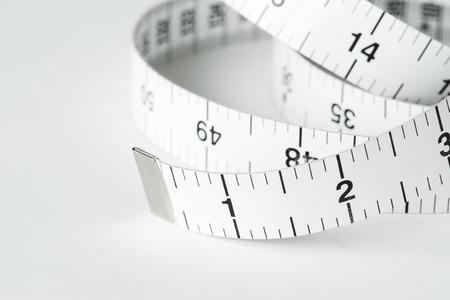 CLoseup of measuring tape
