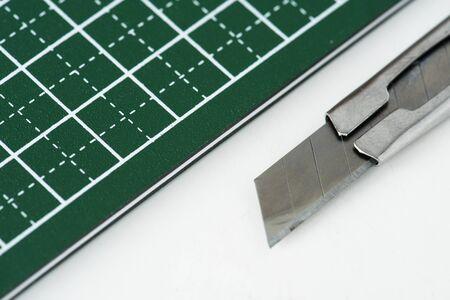 Closeup of cutter 스톡 콘텐츠
