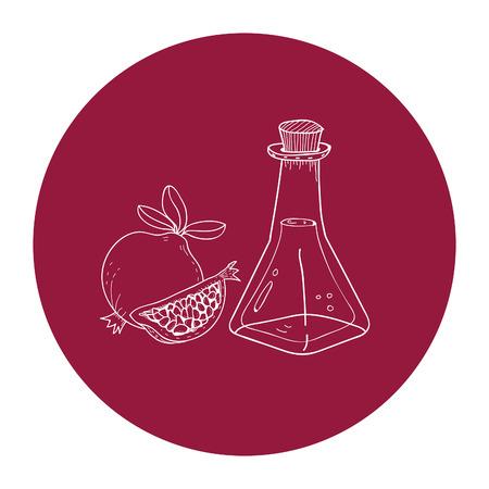 Illustration of oil seeds 写真素材 - 97155317