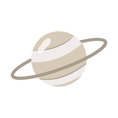 Illustration of a planet Stock Photo