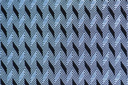 Blue fabric closeup Stockfoto