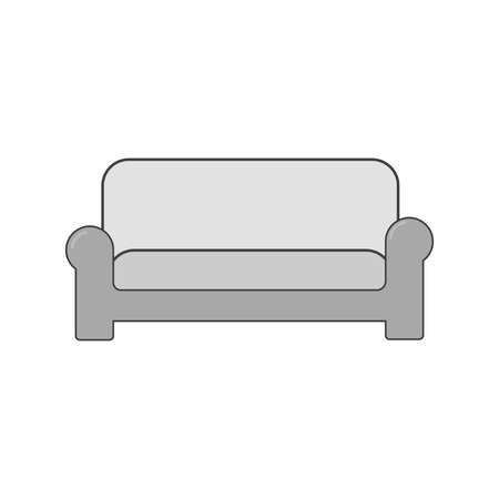 Illustration of a sofa