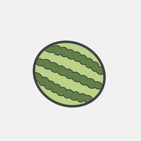 Illustration of fruit icon