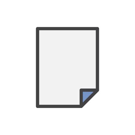 Illustration of document icon