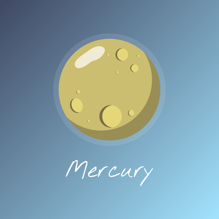 Illustration of Mercury