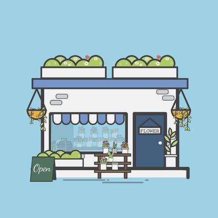 Illustration set of supermarket Imagens - 97154003