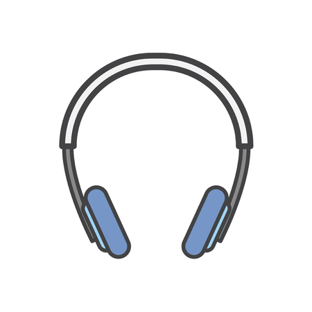 Illustration of a headphone Imagens - 116689450