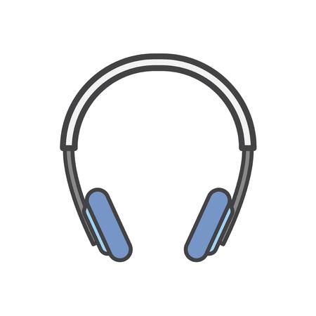 Illustration of a headphone Stock Photo