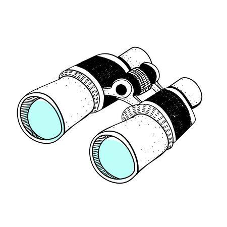 Doodle of binocular