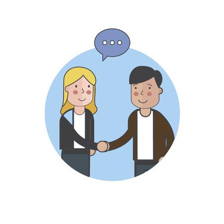 Illustration of people avatar Stock Photo