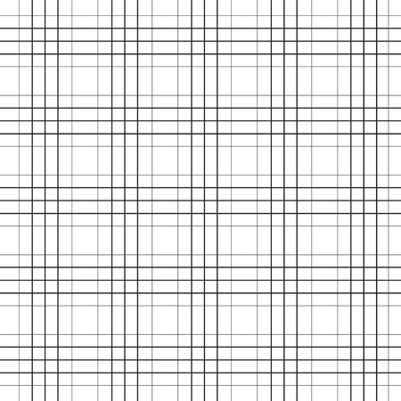 Seamless pattern of various lines and zigzags Foto de archivo