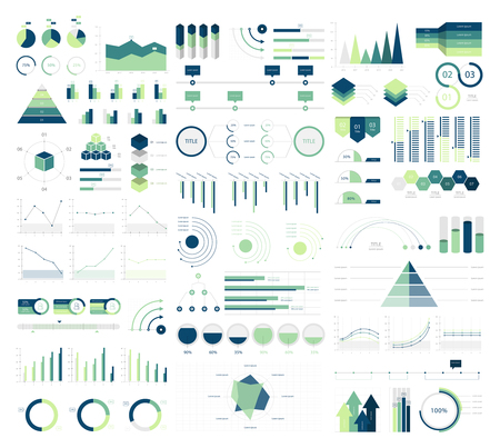 Set elements of infographic Stock Photo