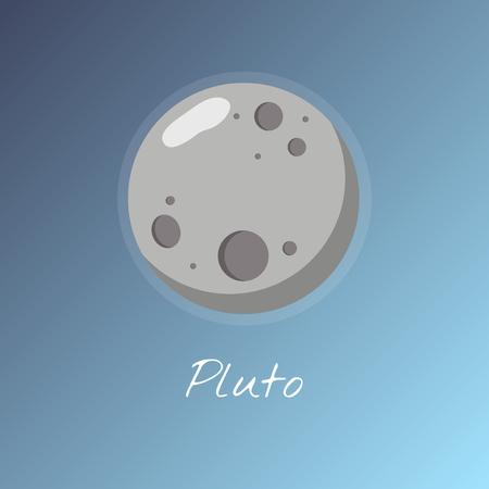 Illustration of Pluto