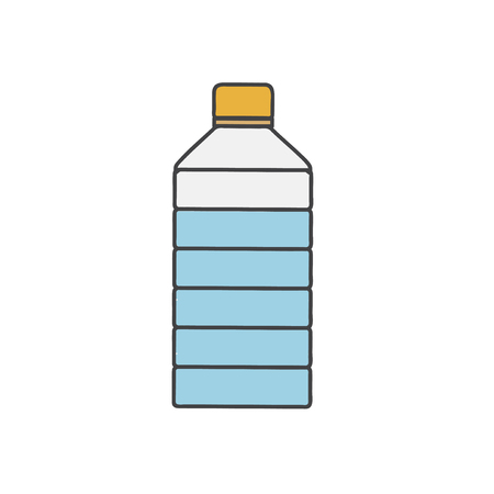 Illustration of water bottle Stok Fotoğraf - 97630485