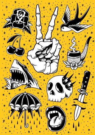 Illustration of Comic style Stockfoto - 97630487