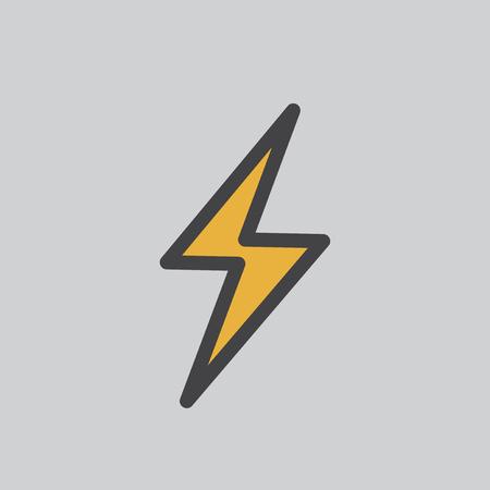 Illustration of a lightning