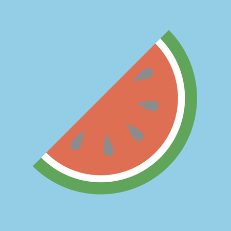 Watermelon icon 版權商用圖片