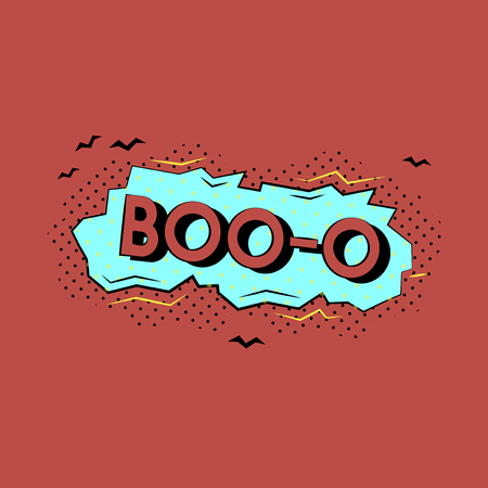 Boo comic speech