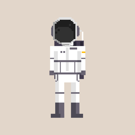 Astronauta de pixel