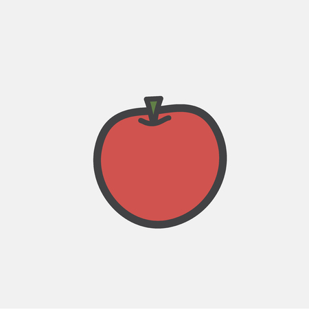 Illustration of fruit icon Stock fotó - 97630678