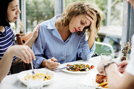 Woman without an appetite