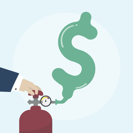 Illustration of financial concept