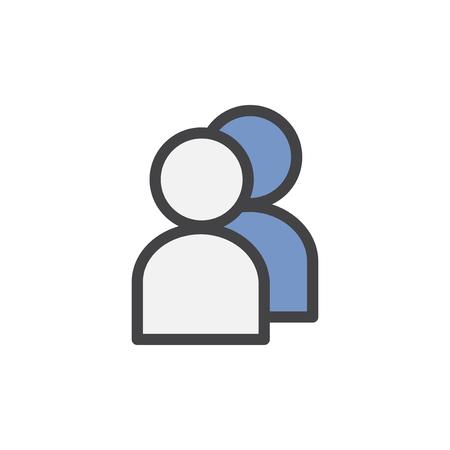 Ilustración de icono de avatar de usuario Foto de archivo - 98007517