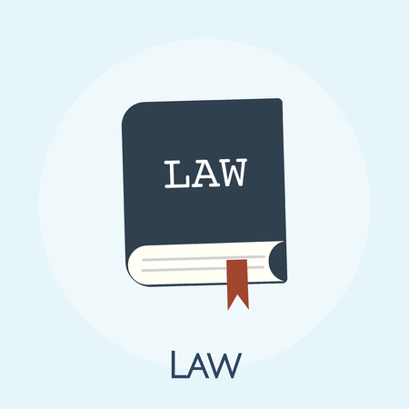 Illustration of law concept Stock Illustration - 99602577