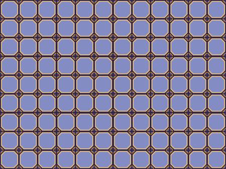 Illustration of tiles textured pattern Stock fotó - 98632502