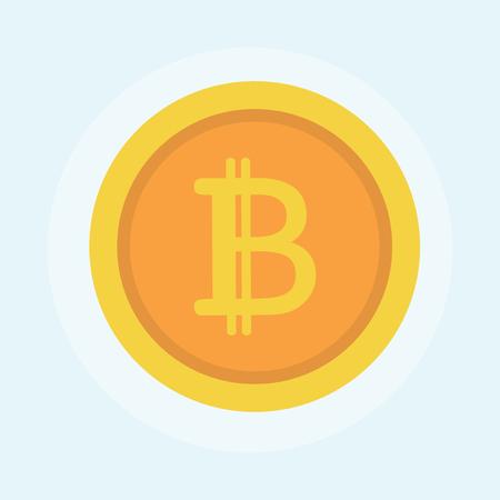 Illustration of bitcoin concept Stock fotó - 98665500